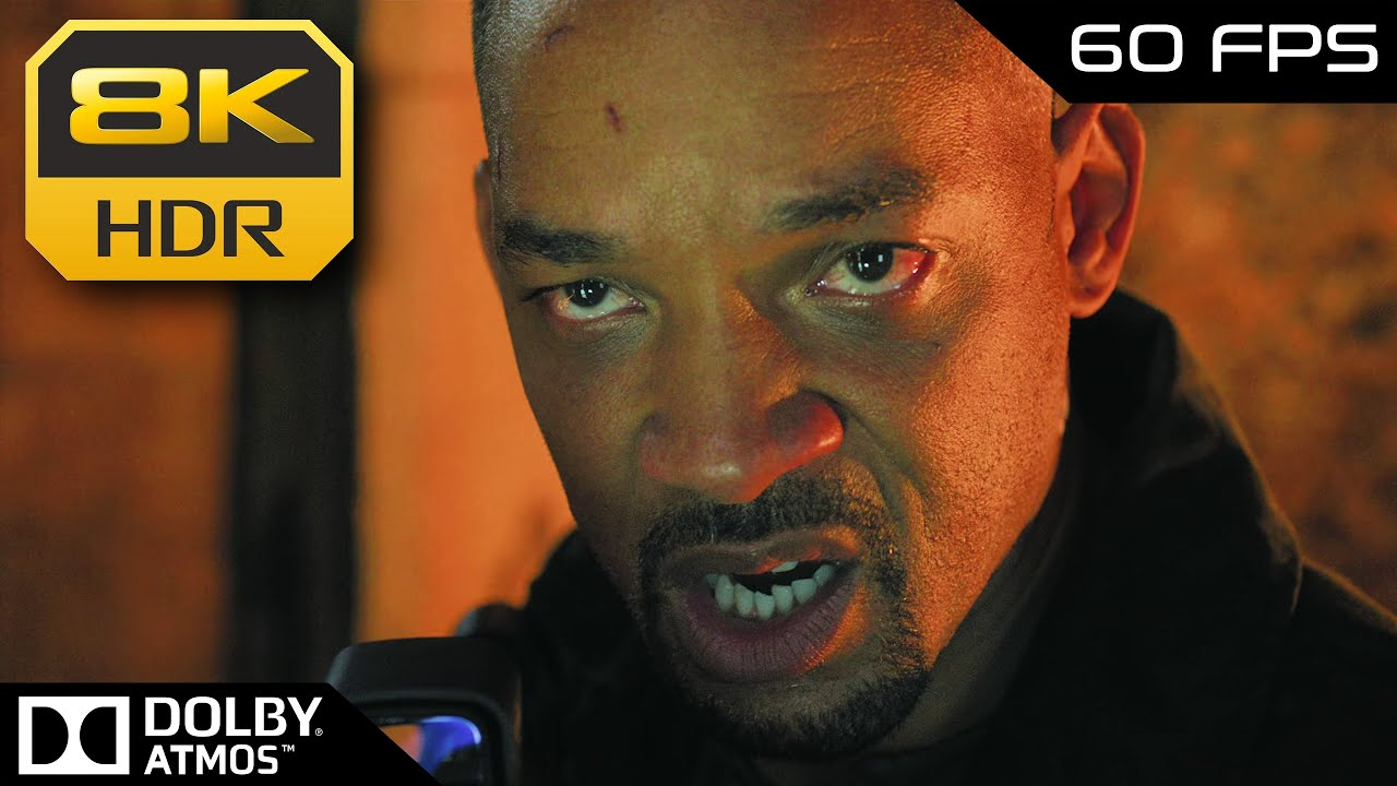 8K HDR 60FPS • Will Smith vs. Will Smith (Gemini Man) ᴬᵗᵐᵒˢ