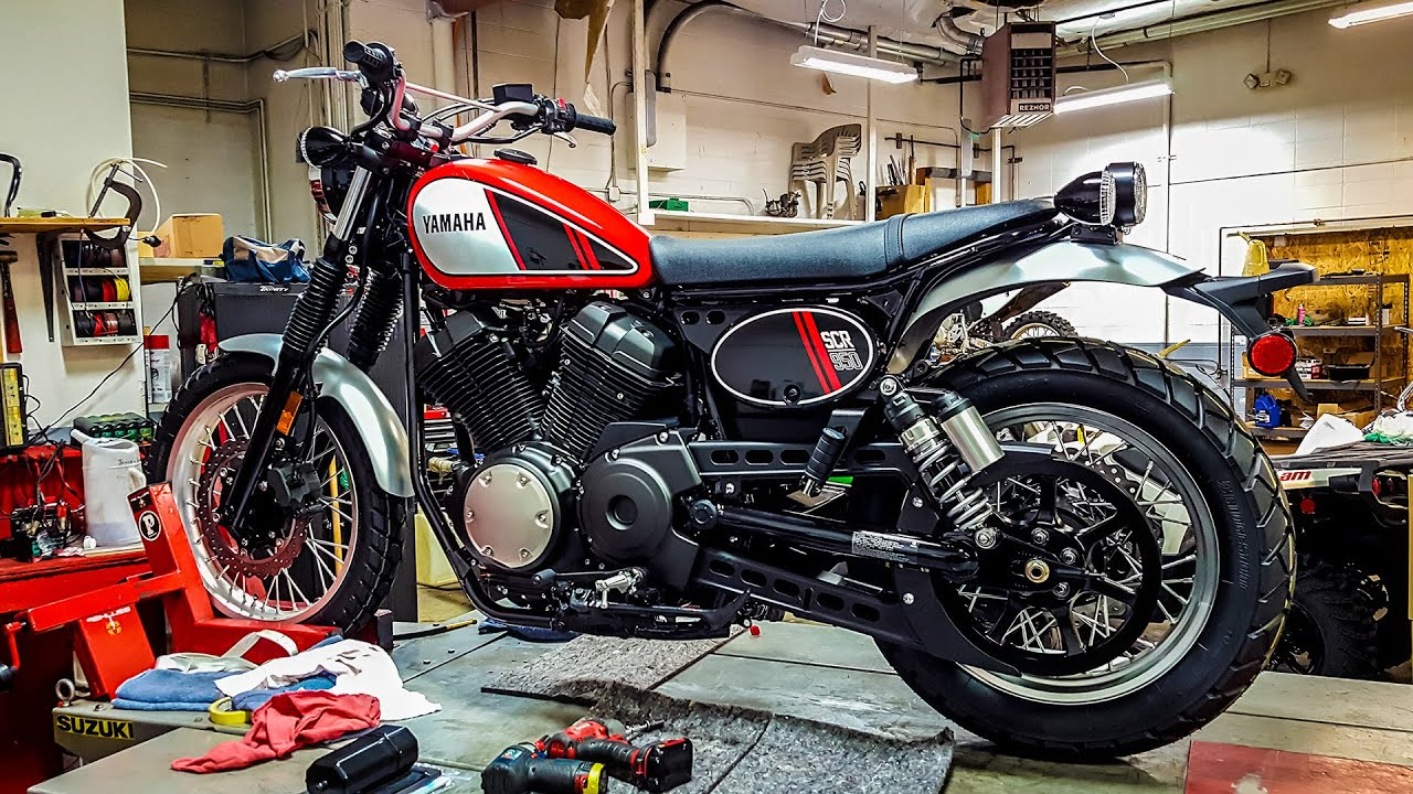 2017 Yamaha Scr950 Scrambler 1st Ride Amp Impression