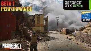 Insurgency: Sandstorm (Beta 1) - GTX 1070 Ti + i7 4790K | PC Max Settings 1440p