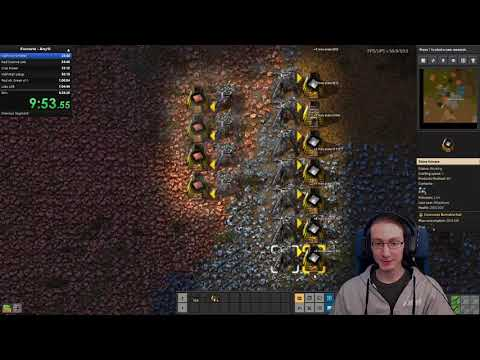 Any% Speedrun Factorio 0.18 - Personal Best 21/03/2020 - 17/04/2020 - 5:07:34