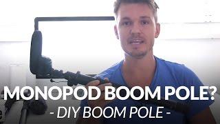 Awesome Diy Monopod Boom Pole // Chris Winter