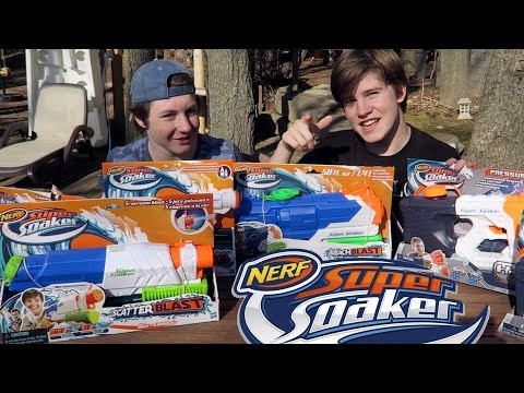 MASSIVE Nerf 2016 Super Soaker Overview + Buyers Guide!