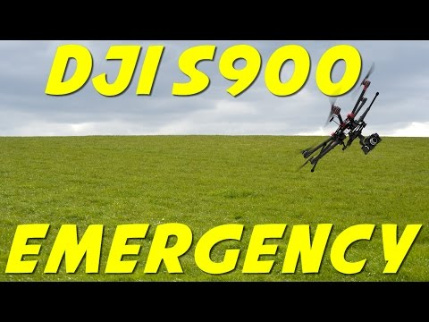 DJI S900 Drone : Emergency Landing Near Crash (UK) - Learn from this!