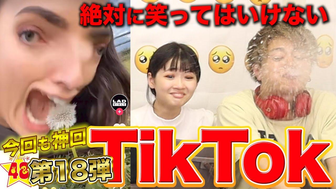 【腹筋崩壊】第18回!絶対に笑ってはいけないTik Tok!!
