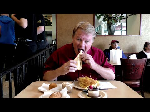 Peter Dills Visits Portos Bakery for PBS