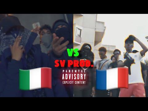 Italian Drill Rap 🇮🇹 vs French Drill Rap 🇫🇷