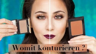 Bronzer oder Konturpuder | Was eignet sich zum konturieren? | Make-up Basics #9 | Hatice Schmidt