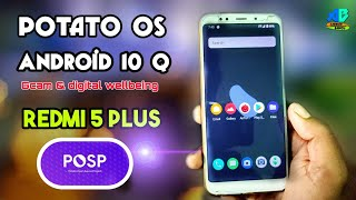 Posp Potato Android 10 Q Rom For Redmi Note 5 Redmi 5 Plus  Full Review  Vince