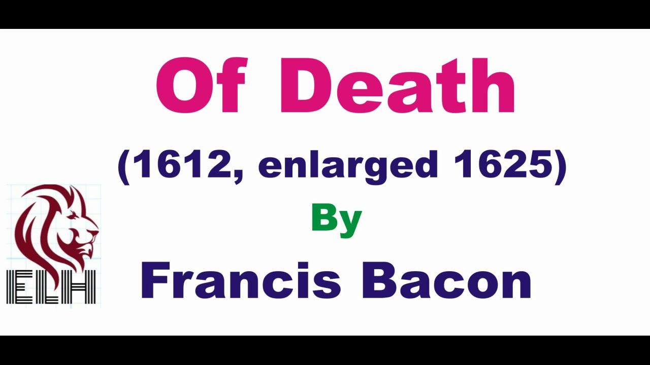 of love francis bacon summary