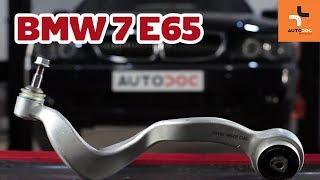 Kuinka vaihtaa ylätukivarsi BMW 7 E65 -merkkiseen autoon OHJEVIDEO | AUTODOC