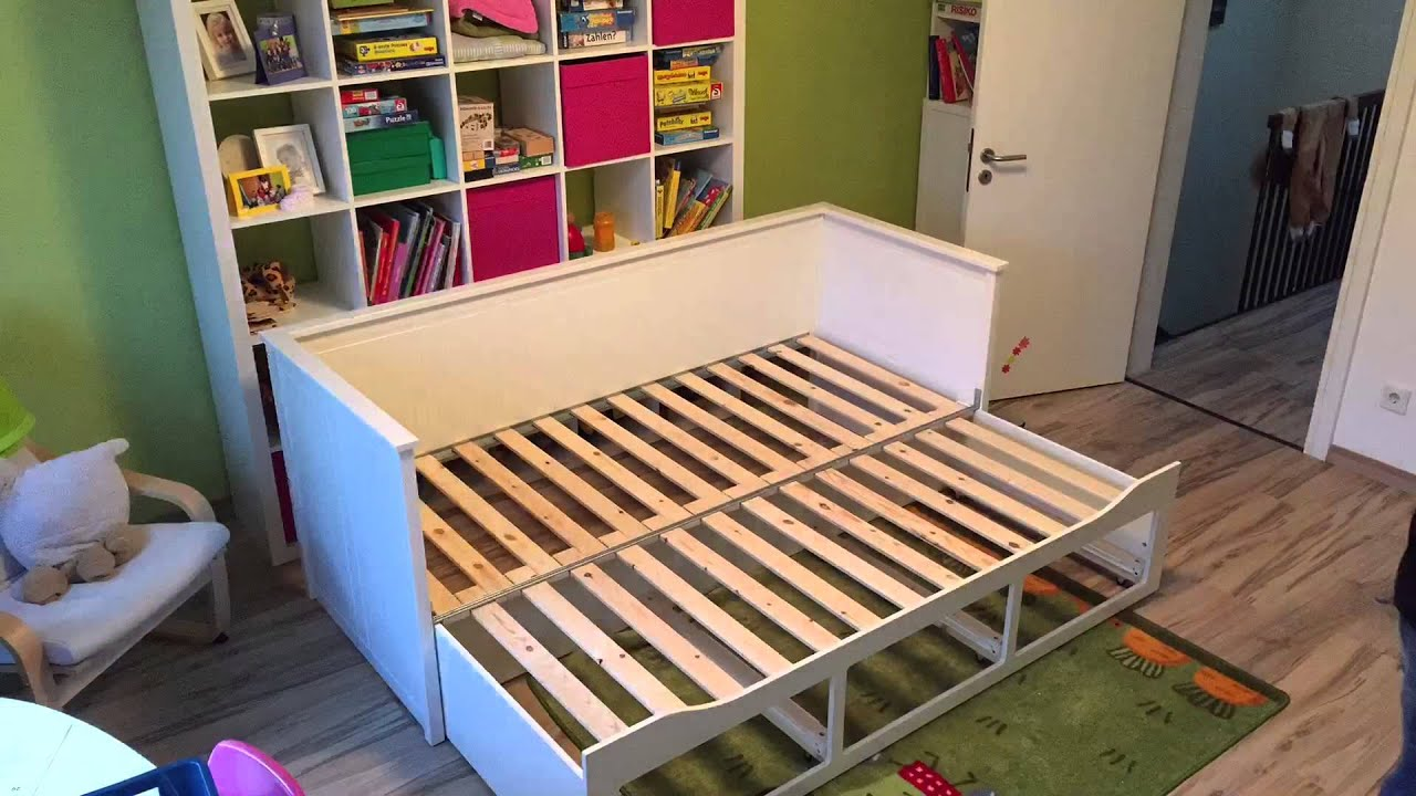 maya's neues ikea hemnes bett - youtube