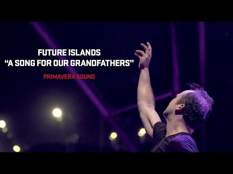 "Future Islands Performs "" A Song For Our Grandfathers"" at Primavera Sound 2014"
