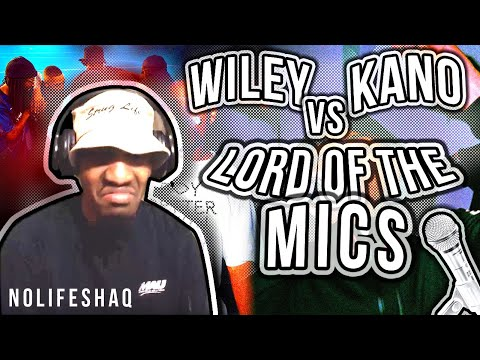 Please Slow It down Kano! | Wiley vs. Kano – Lord of the Mics 1| NoLifeShaq REACTION