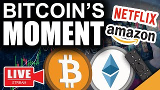Life-Changing Moment For Bitcoin (Amazon All-In On Ethereum?)