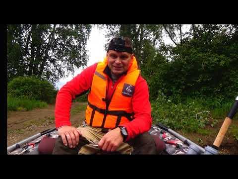В поиске щуки на моторной лодке.Рыбалка в Свердловской области.Река Лобва.