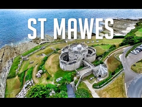 Cornwall - St Mawes Port & Castle