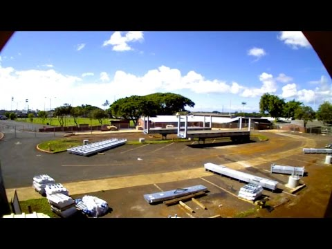 Pearl City Elementary Solar Canopy Construction