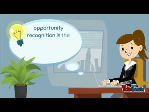 opportunity recognition Opportunity recognition (or) are ways in which entrepreneurs identify potential ways towards identifying new business based on the opportunities that they identify through or, entrepreneurs.