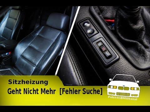 E36 Profi Carbon Sitzheizung Heiz Auflage Nachrüsten 5 stufig; BMW 3er Compact