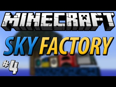 Minecraft Sky Factory - Part 4 - Ex Nihilo Sifting Automation!