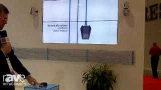 InfoComm 2014: Audio-Technica Talks About Its Dante Boundary Microphone