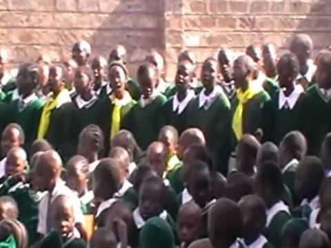 World Hope Academy Senior Christian Union Sing to visitors