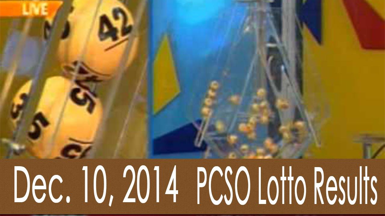 10 december 2014 lotto results