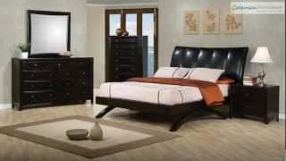 Phoenix Upholstered Platform Bedroom Collection From Coaster Furniture