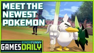 Meet the Newest Pokemon - Kinda Funny Games Daily 09.18.19