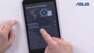 ASUS Tablet Tutorial - 03 Ersteinrichtung / Setup / erster Start