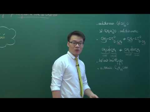 Thầy Vũ Khắc Ngọc - Một số lý thuyết trọng tâm về este và chất béo (p1)