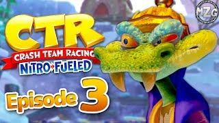 Crash Team Racing Nitro Fueled Gameplay Walkthrough - Part 3 -  Story Mode! Glacier Park!