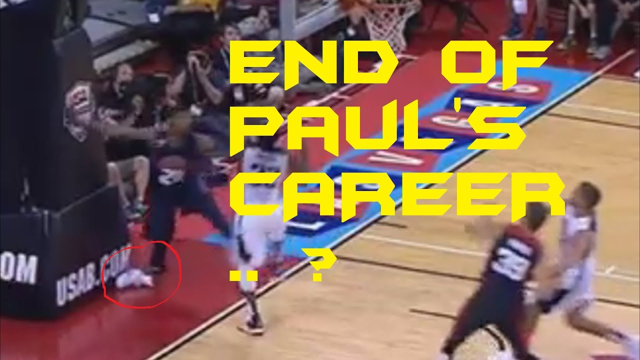 Nba pacers paul george snaps leg 2014 hd serious injury nba pacers paul george snaps leg 2014 hd serious injury warning slow motion voltagebd Gallery