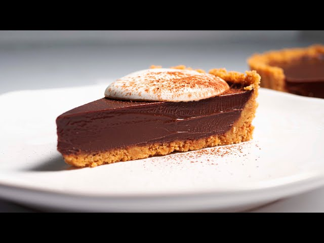 No-bake Chocolate Tart
