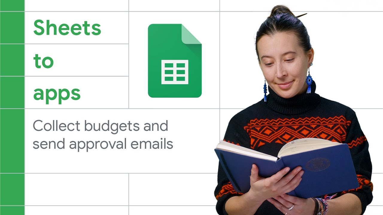 How to create a budget submission form with Google Sheets and Apps Script - Sheets to Apps