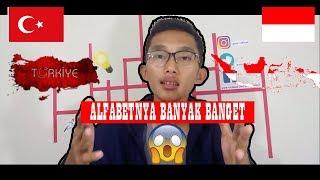 8 MENIT BELAJAR BAHASA TURKI eps. 1 - Perbedaan alfabet Bahasa Turki dgn Bahasa Indonesia #BELAJAR