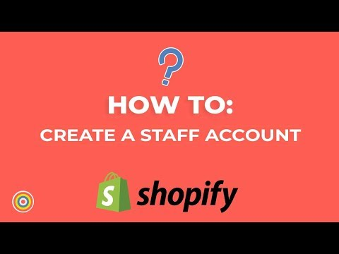 How To Create Or Add A Staff Account On Shopify - E-commerce Tutorials