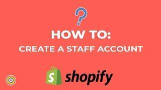 How to Erstellen oder Fügen Sie ein mitarbeiterkonto, auf Shopify - E-commerce-Tutorials