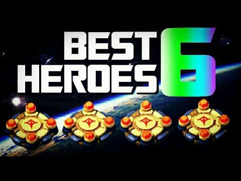 Best 6 Heroes In Castle Clash!!!!