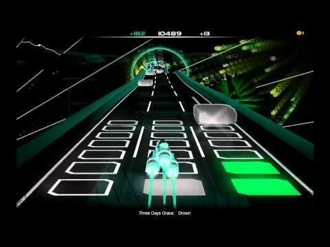 Three Days Grace - Drown (AudioSurf)