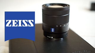 Sony SEL1670Z T*E 16-70mm F/4 Zeiss Lens Overview