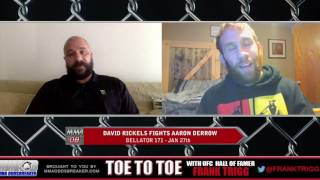 Bellator 171's David Rickels: 'I want one more run at the 155 pound belt'