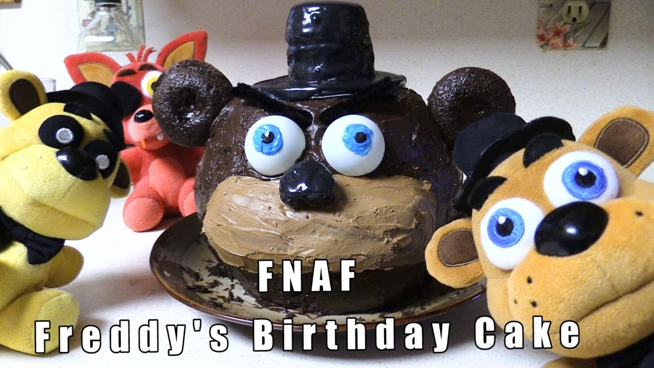 Happy Bithday Freddy Cake