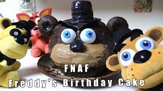 FNAF plush Episode 49 -Freddy's Birthday Cake