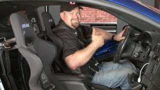 Mustang Corbeau FX1 Seat and Harness Installation