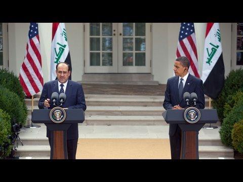 President Obama Meets with Prime Minister Maliki