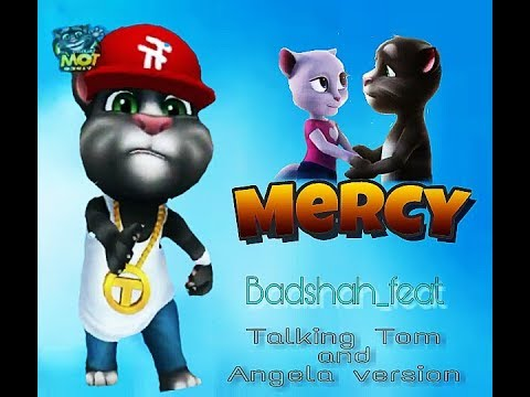 Mercy badshah song//Mercy badshah song talking tom and angela version