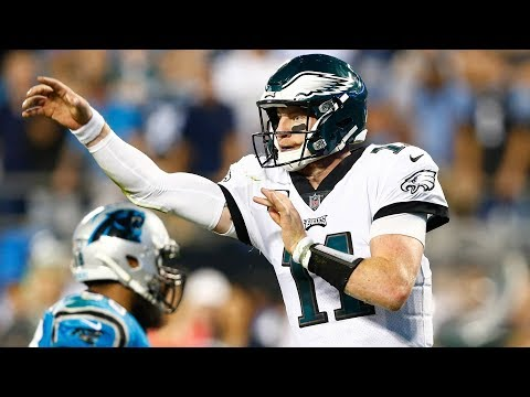Carson Wentz Leads the Eagles Past the Panthers | Stadium