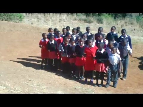 Sesotho Children singing at Missouri Primary School