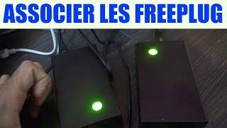 freebox associer freeplug brancher freebox crystal révolution association synchroniser